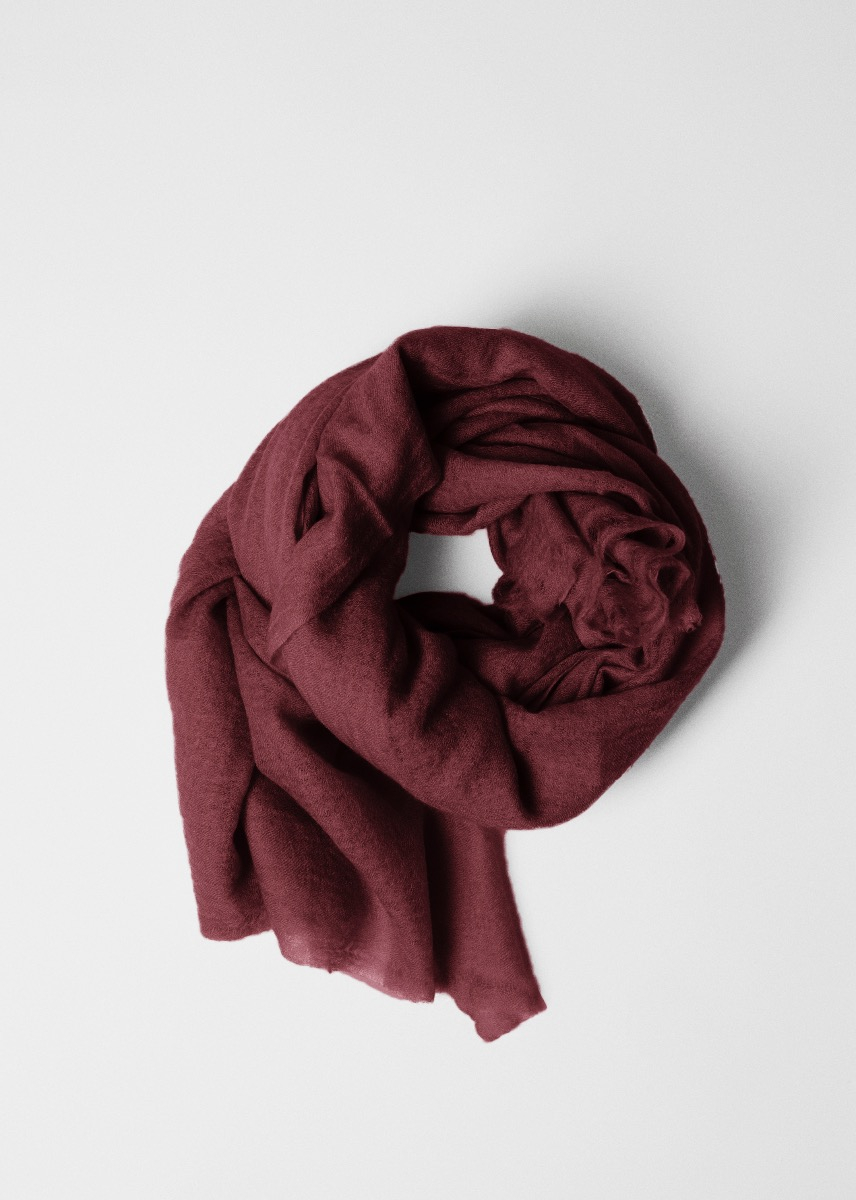 Scarfs - Poon Cashmere Scarf  Thumbnail