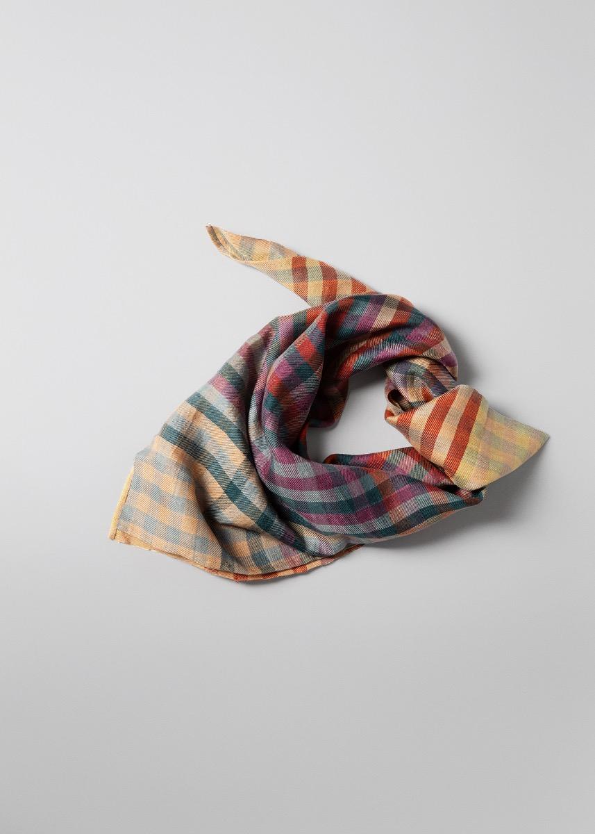 Halstørklæder - Bandipur tørklæde  Thumbnail