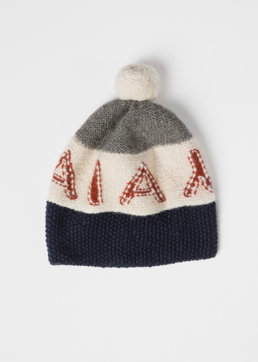 Huer & Vanter - Barbeth logo beanie Thumbnail