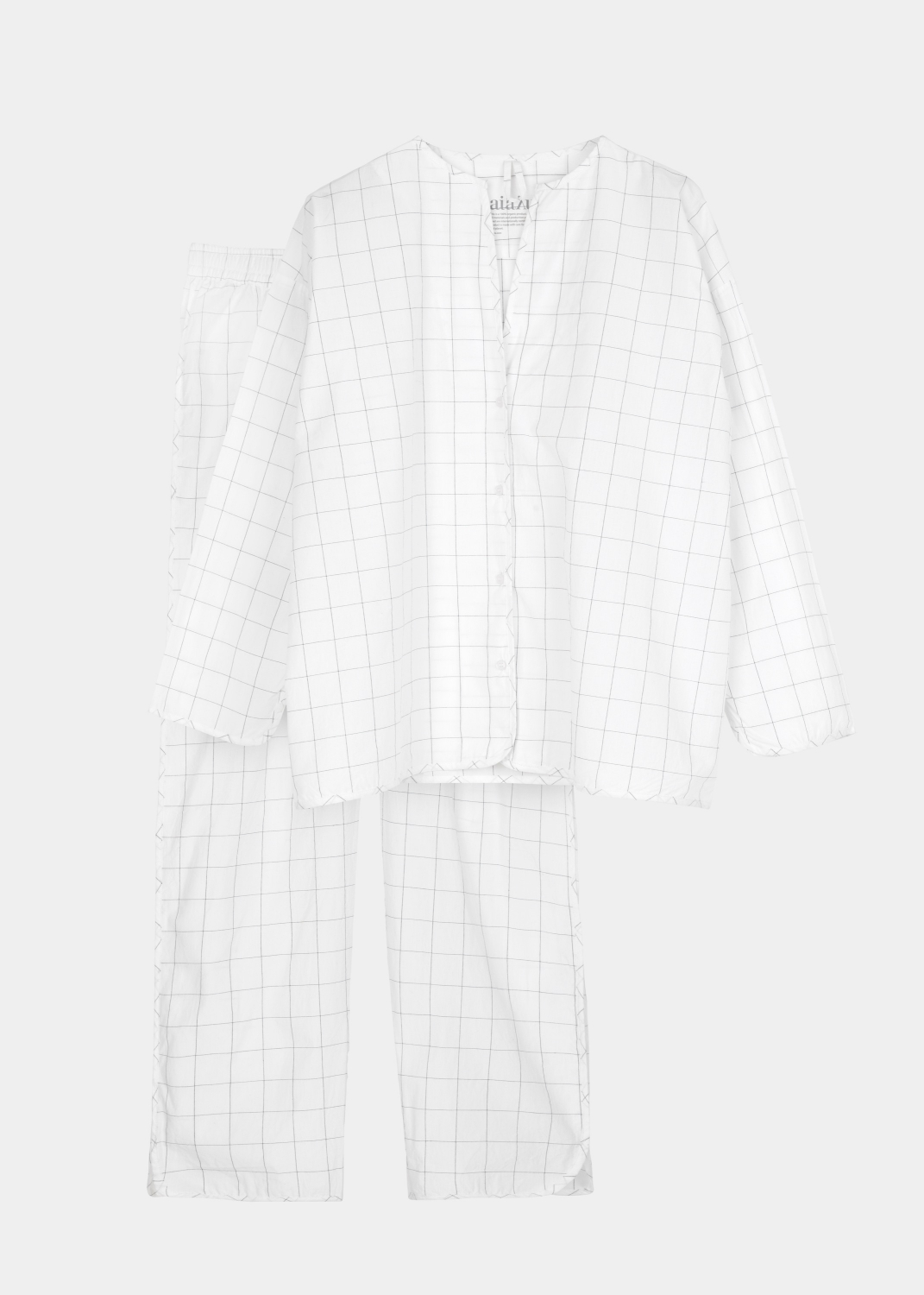 Lounge Wear - Pyjamas - Checks
