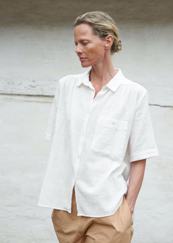 Blusen - Anna Shirt Crepe Thumbnail