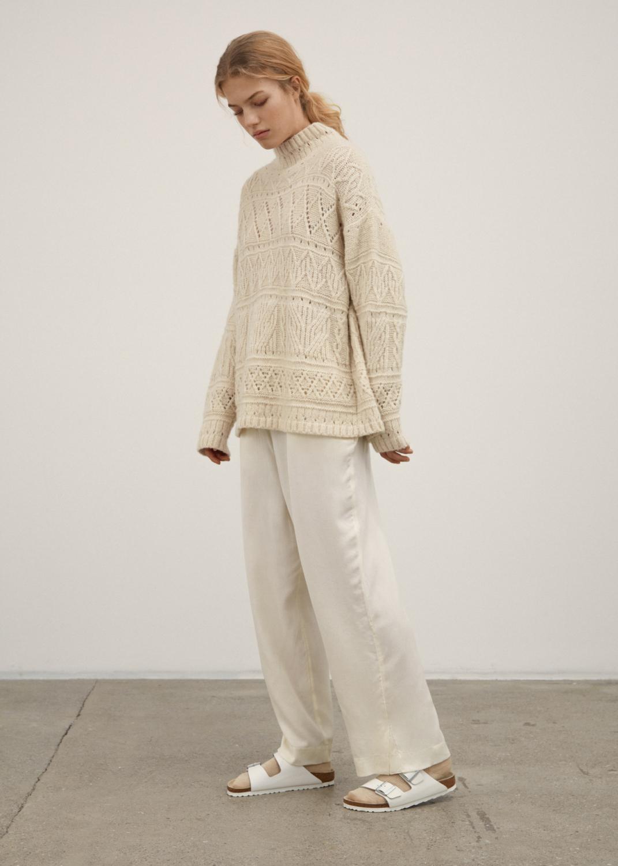 Knitwear - Blanco sweater Thumbnail