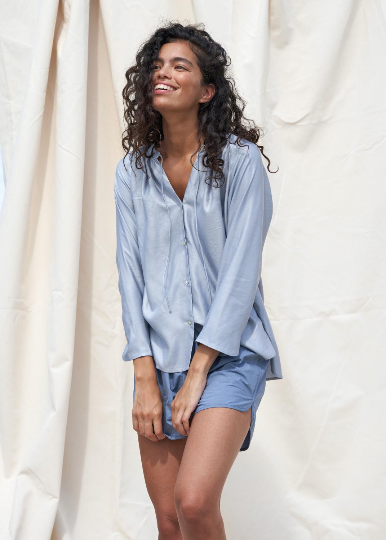 Shirts - Chloe Shirt Silk Thumbnail