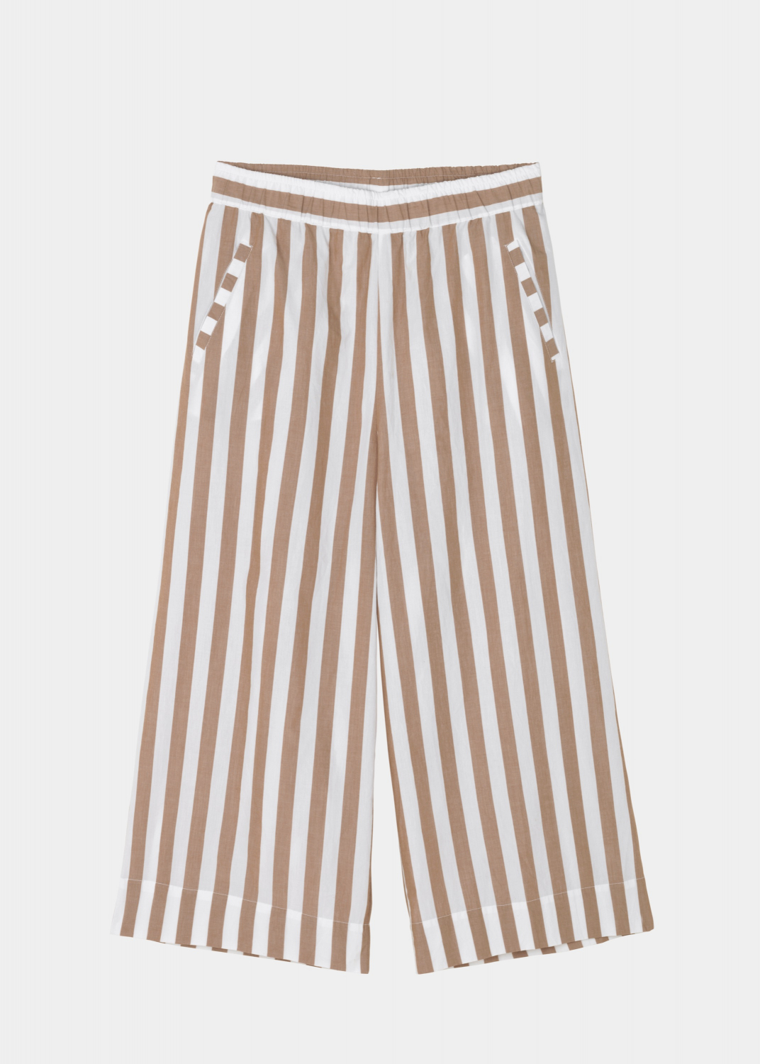 The Circle Collection - Circle Wide Pant Striped Thumbnail