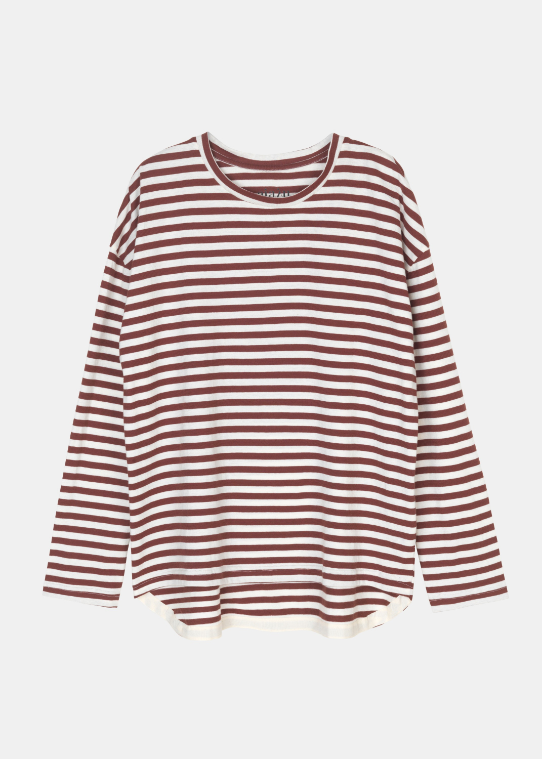 Bluser & Toppe - Dropped Shoulder Tee Striped Thumbnail