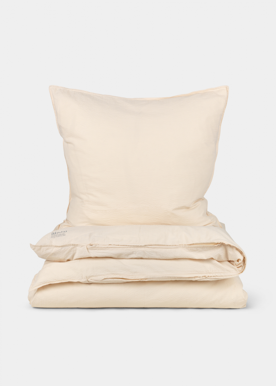 Sengetøj - Seersucker sengetøj - Single (140x200 + pudebetræk) Thumbnail
