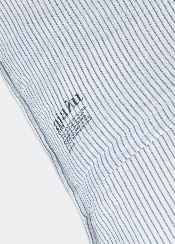 Bettwäsche - Bettwäsche Set Gestreift -  Single XL (140x220 + Kissenbezug) Thumbnail