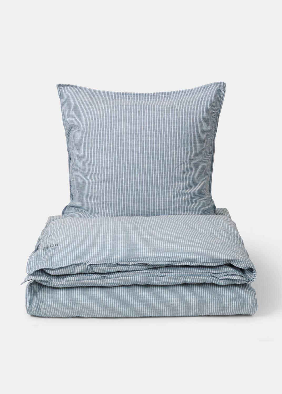 Sengetøj - Stribet sengetøj 150x210 (SE størrelse) Thumbnail