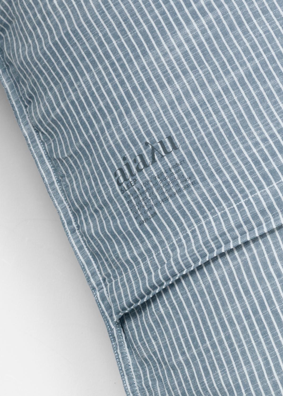 Sengetøj - Stribet pudebetræk 50x60 (SE størrelse) Thumbnail