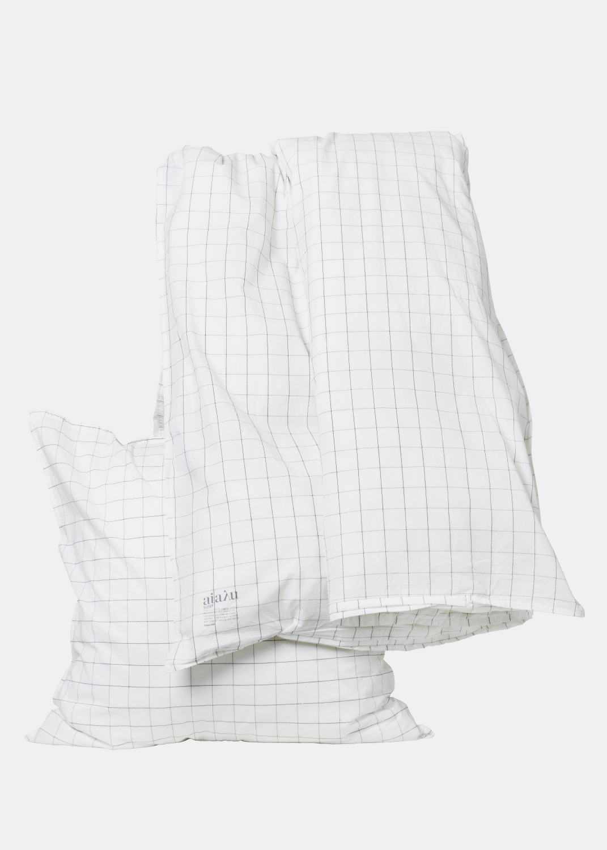 Bedlinen - Duvet Set Single - Checks (140x200)  Thumbnail