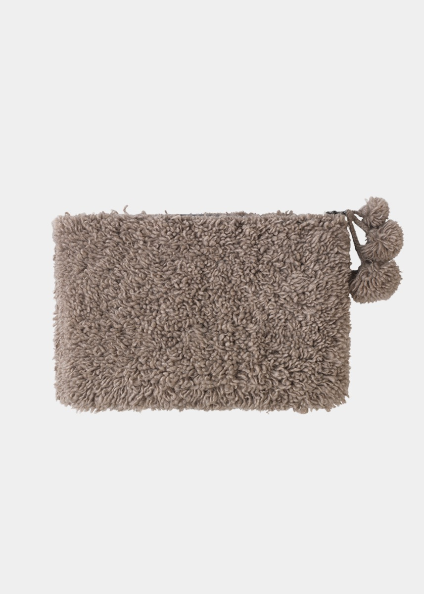 Clutches & Bags - Eden Cashmere Clutch