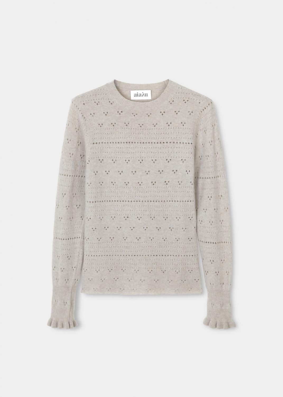 Knitwear - Jane cashmere blouse  Thumbnail