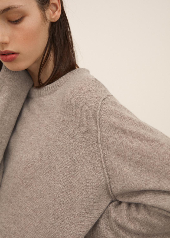 Knitwear - Leonardo cashmere sweater Thumbnail