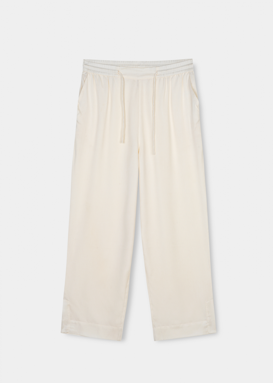 Bukser & shorts - Lola Straight Pant Silk