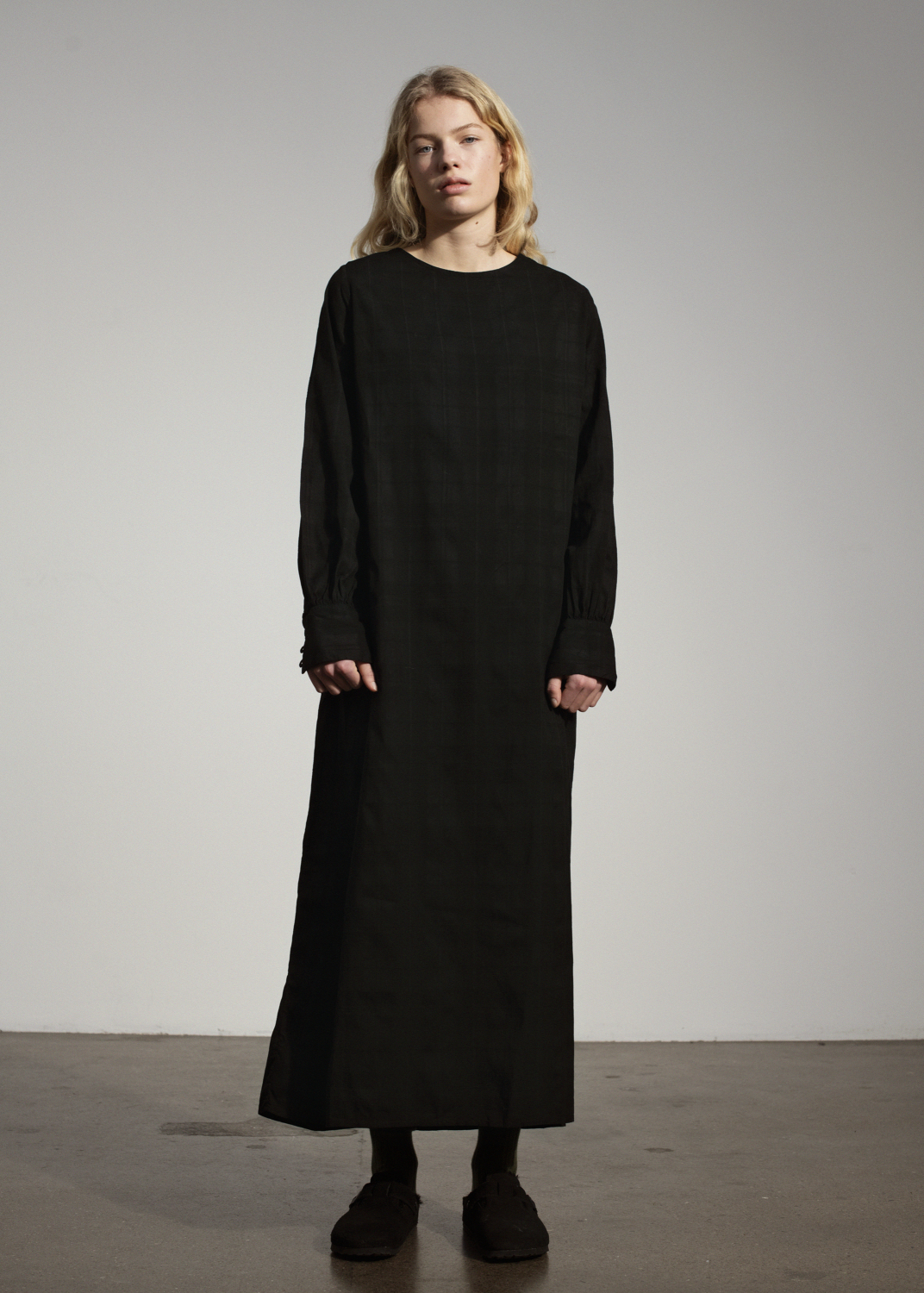 Kleider & Röcke - Long Sleeve Dress Shadow Thumbnail