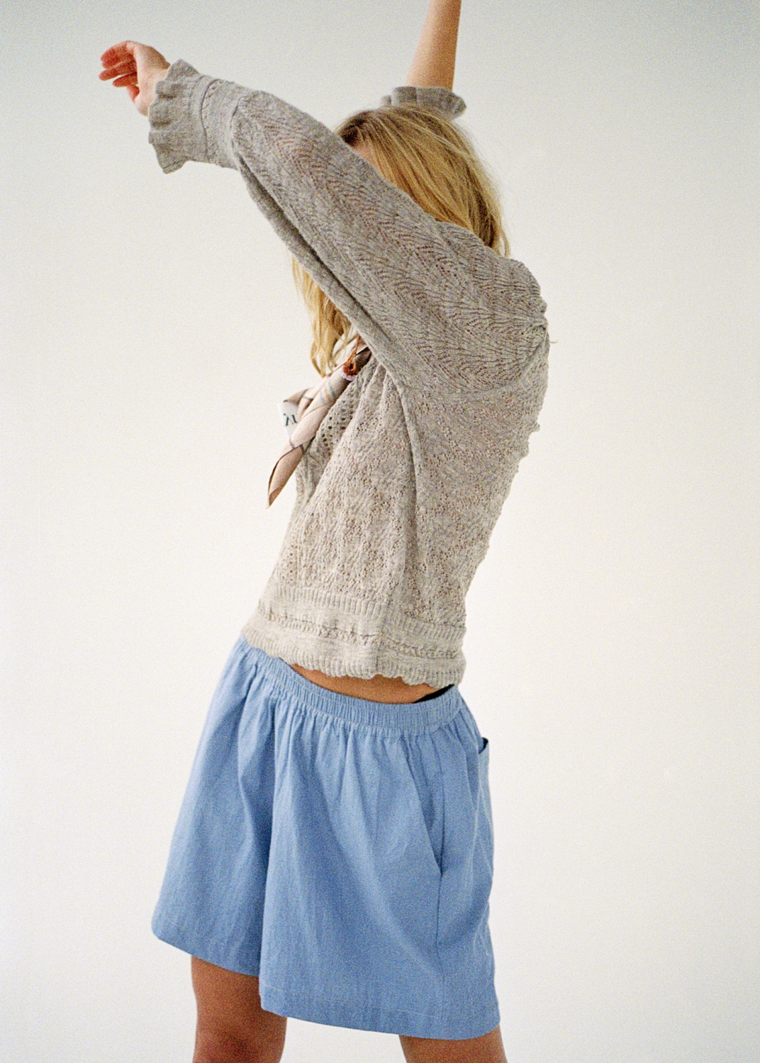 Hosen & Shorts - Lulu Chambray Shorts