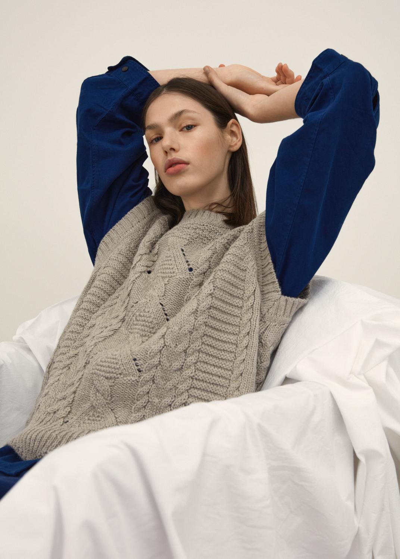 Knitwear - Majse vest Thumbnail