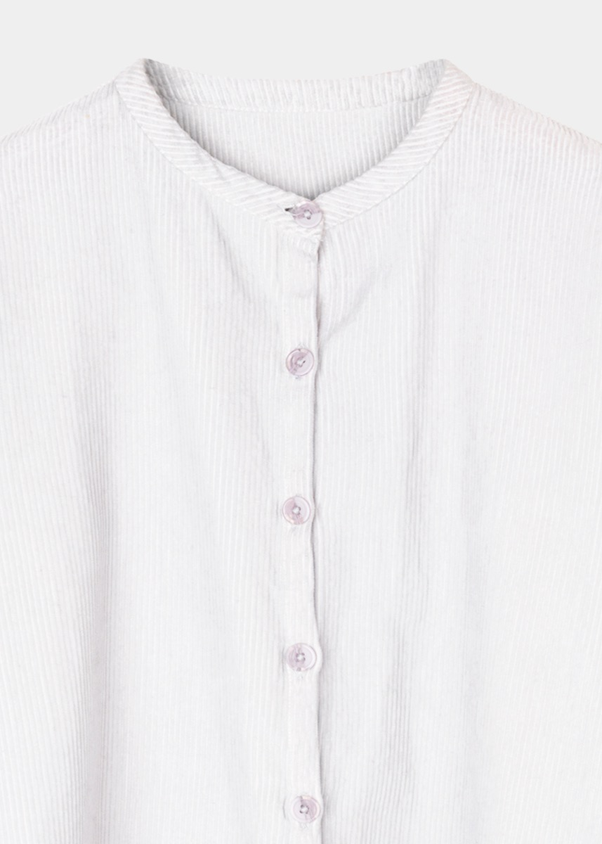 Shirts - Mao Corduroy Shirt