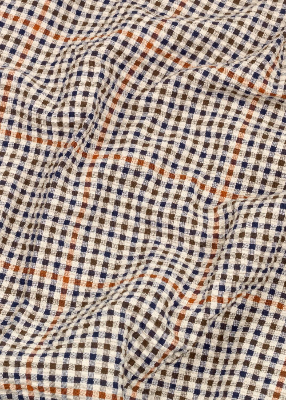 Shirts - Mao Shirt Seersucker Thumbnail