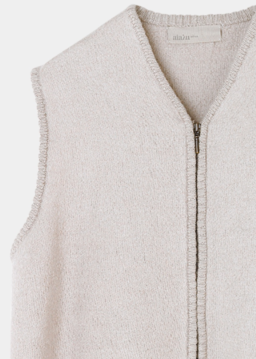 Outerwear - Maples Wool Vest Thumbnail