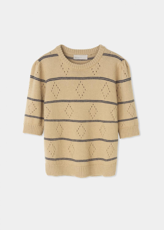 Strik - Nobel pullover Thumbnail