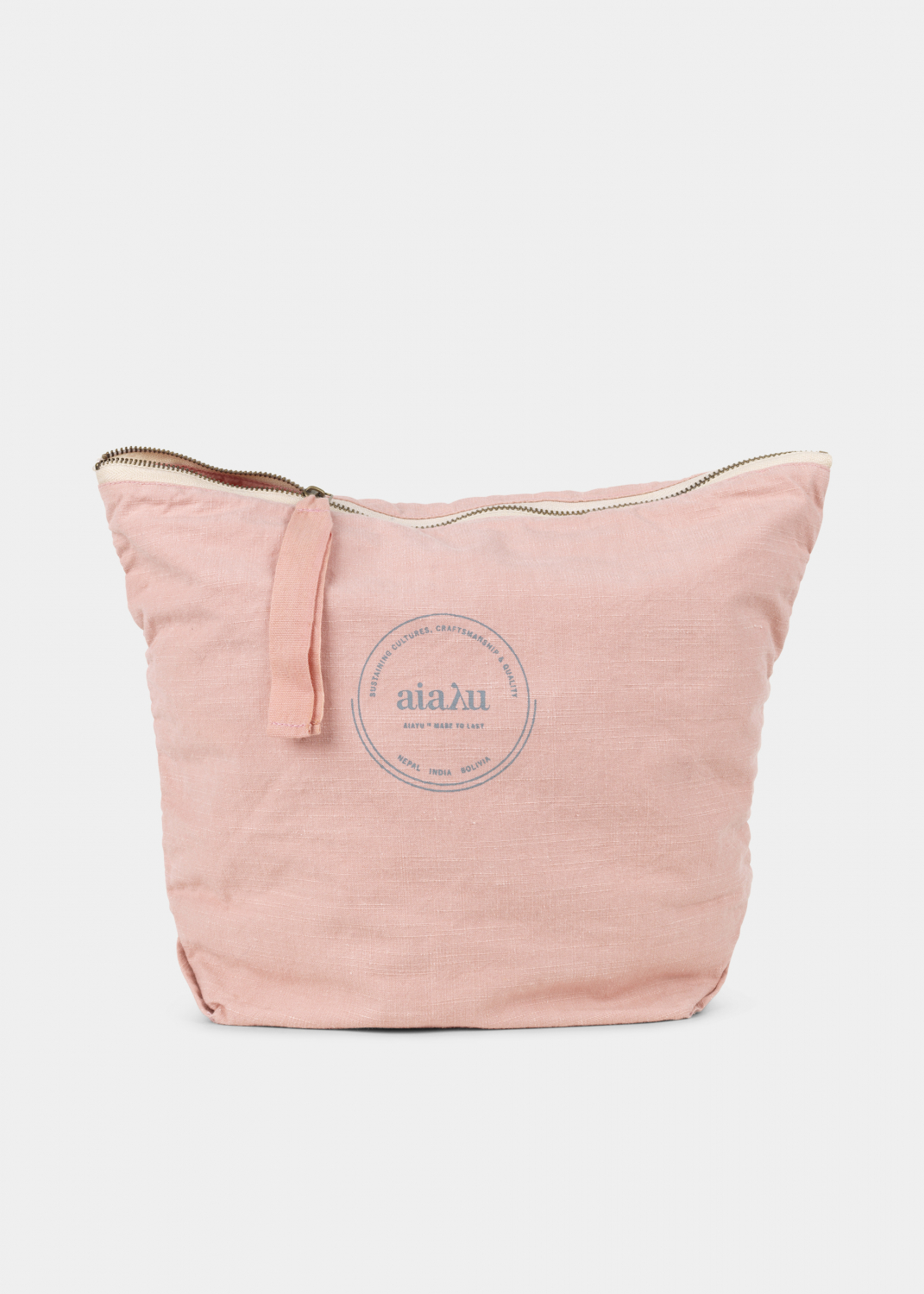 Clutches & Bags - Pouch Cotton Slub