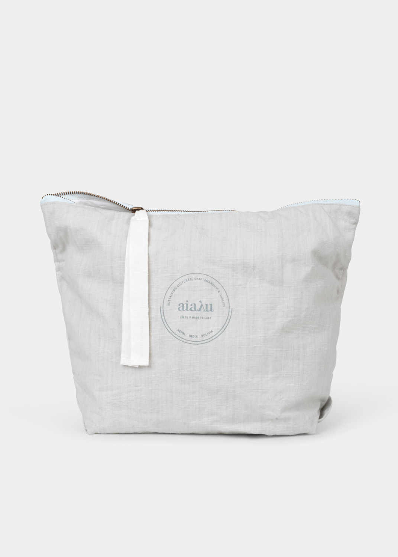 Clutches & Bags - Pouch Cotton Slub Thumbnail