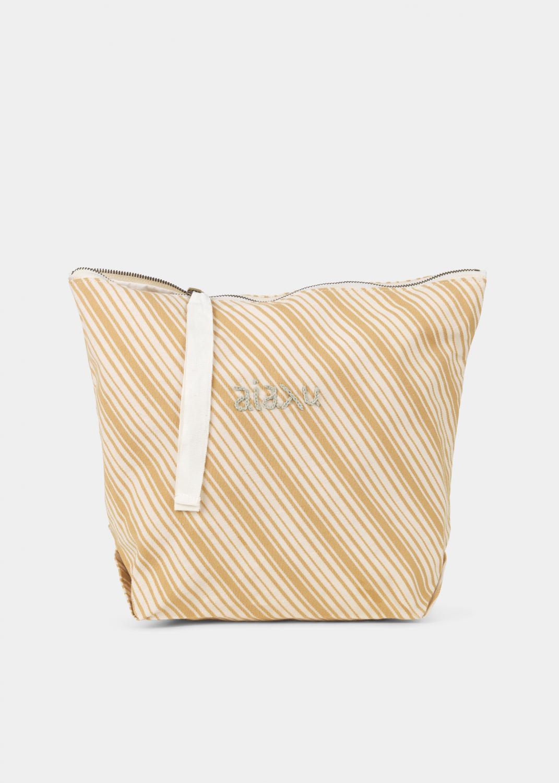 Clutches & Taschen - Beutel Dobby gestreift Thumbnail