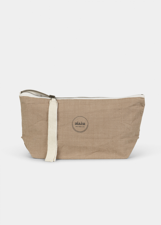 Clutches & Taschen - Beutel Mini Baumwolle Slub Thumbnail