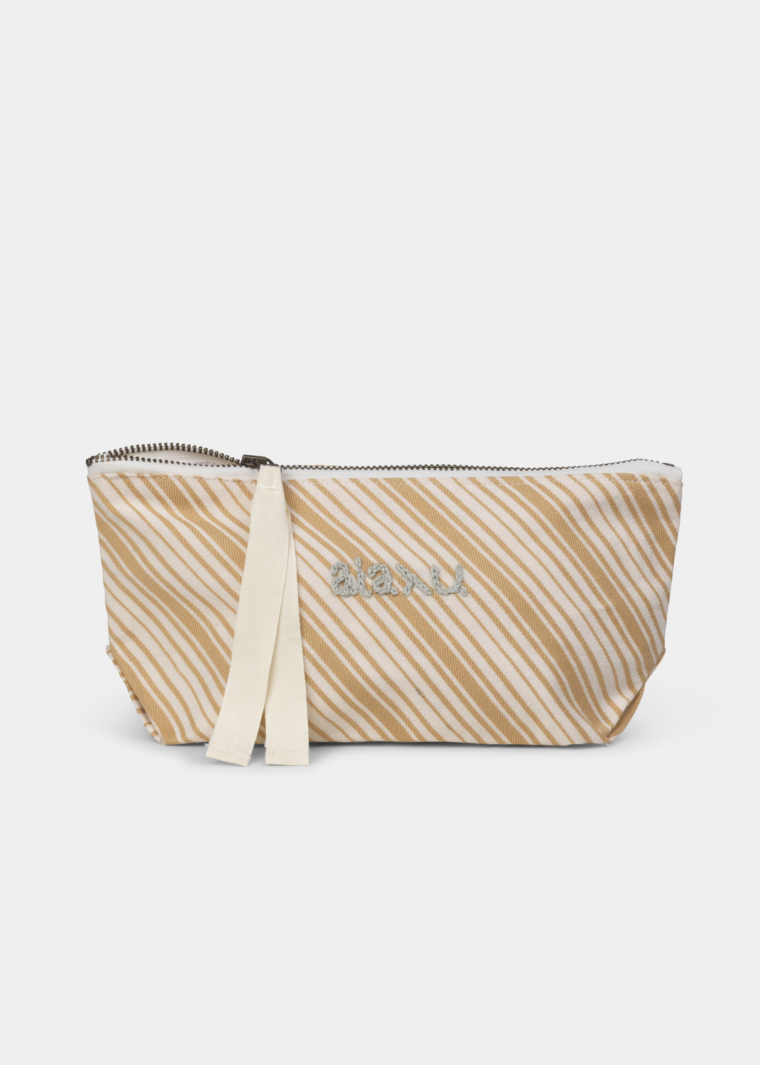 Clutches & Bags - Pouch Dobby Striped Mini Thumbnail