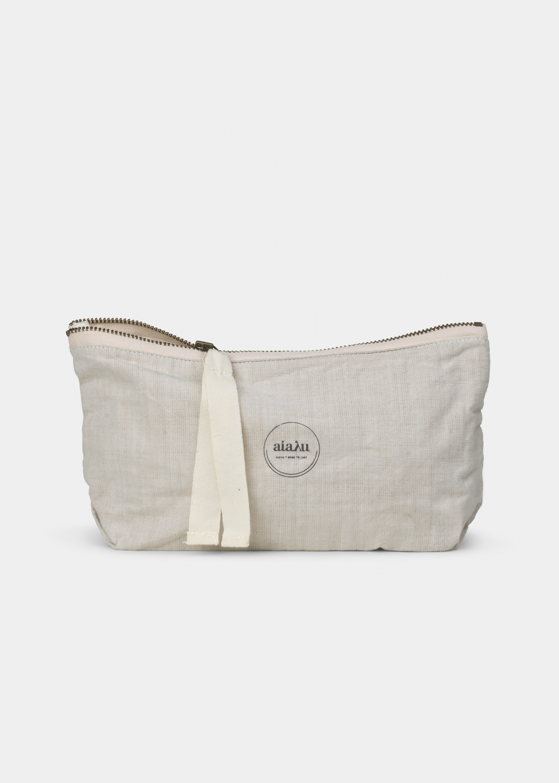Clutches & Bags - Pouch Mini Cotton Slub Thumbnail