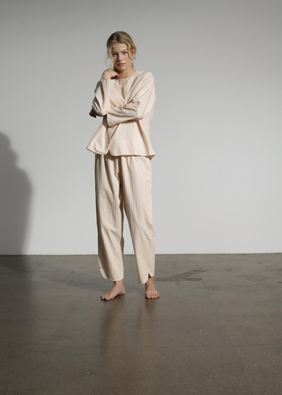 Lounge Wear - Pyjamas Seersucker Thumbnail