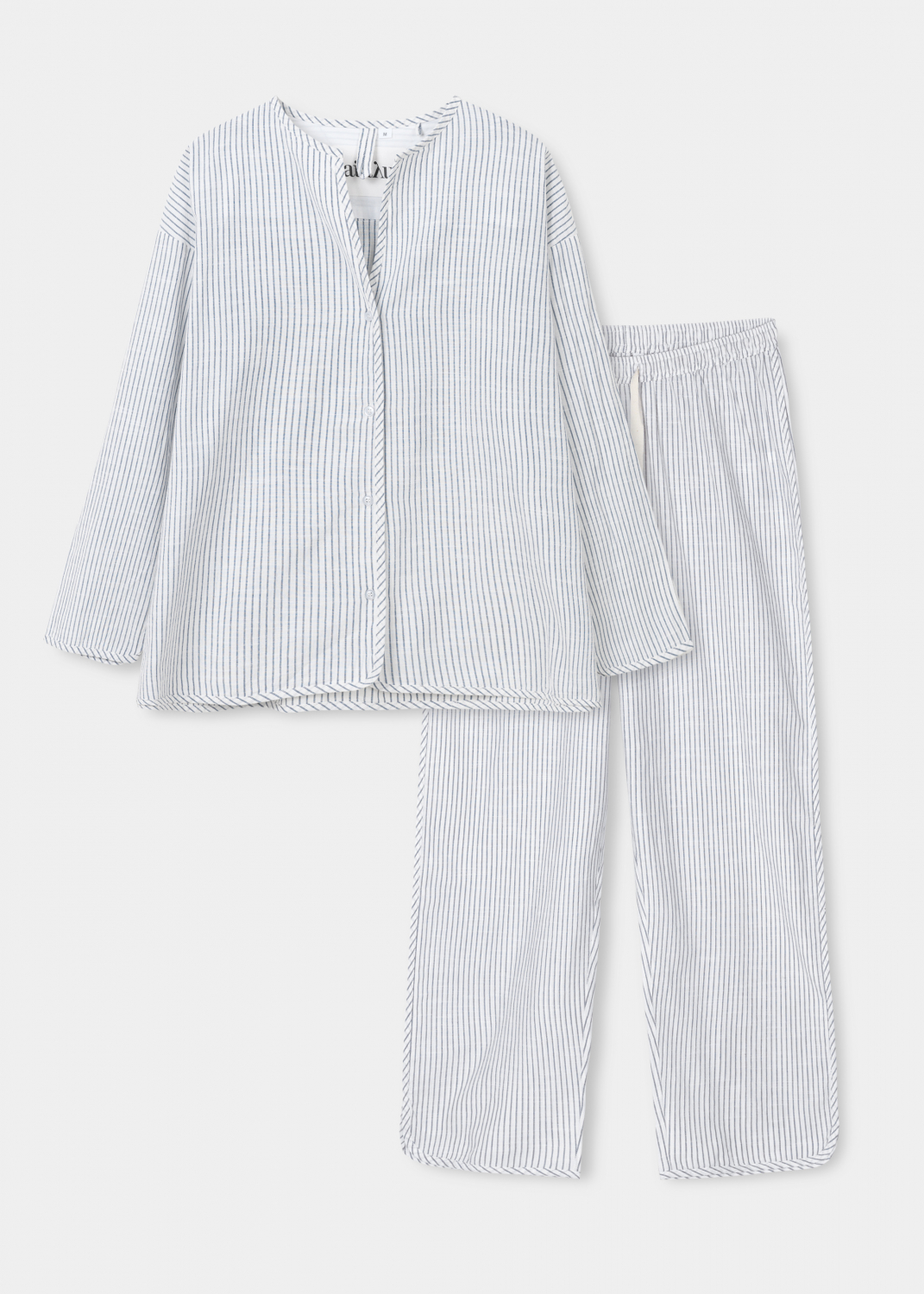 Sleepwear - Pyjamas Striped Thumbnail