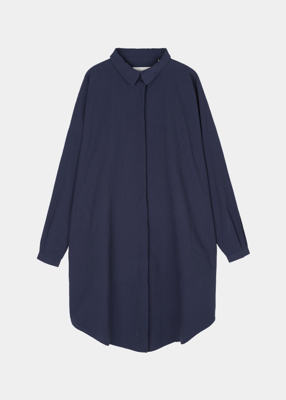Dresses & Skirts - Shirt Dress Seersucker Thumbnail