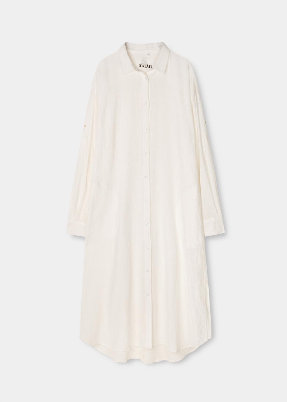Kjoler & nederdele - Shirt Robe Crepe Thumbnail