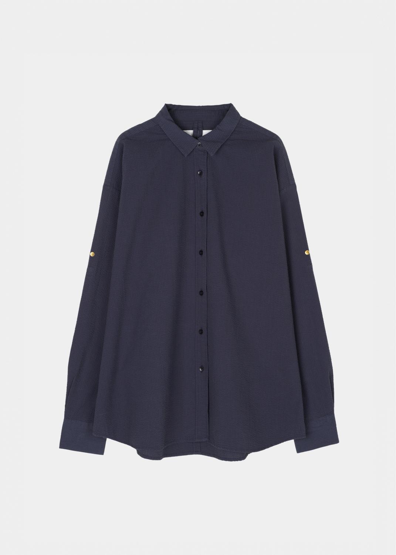 Lounge Wear - Shirt Seersucker Thumbnail