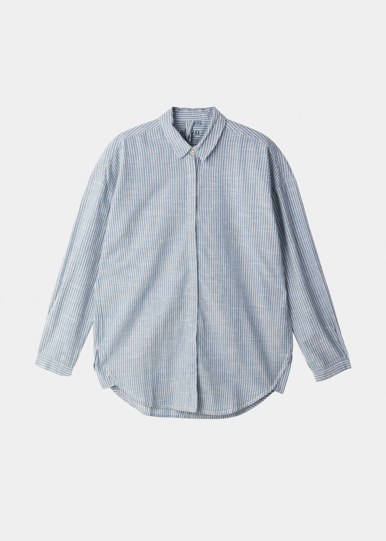 Blusen - Shirt Slim Striped Thumbnail