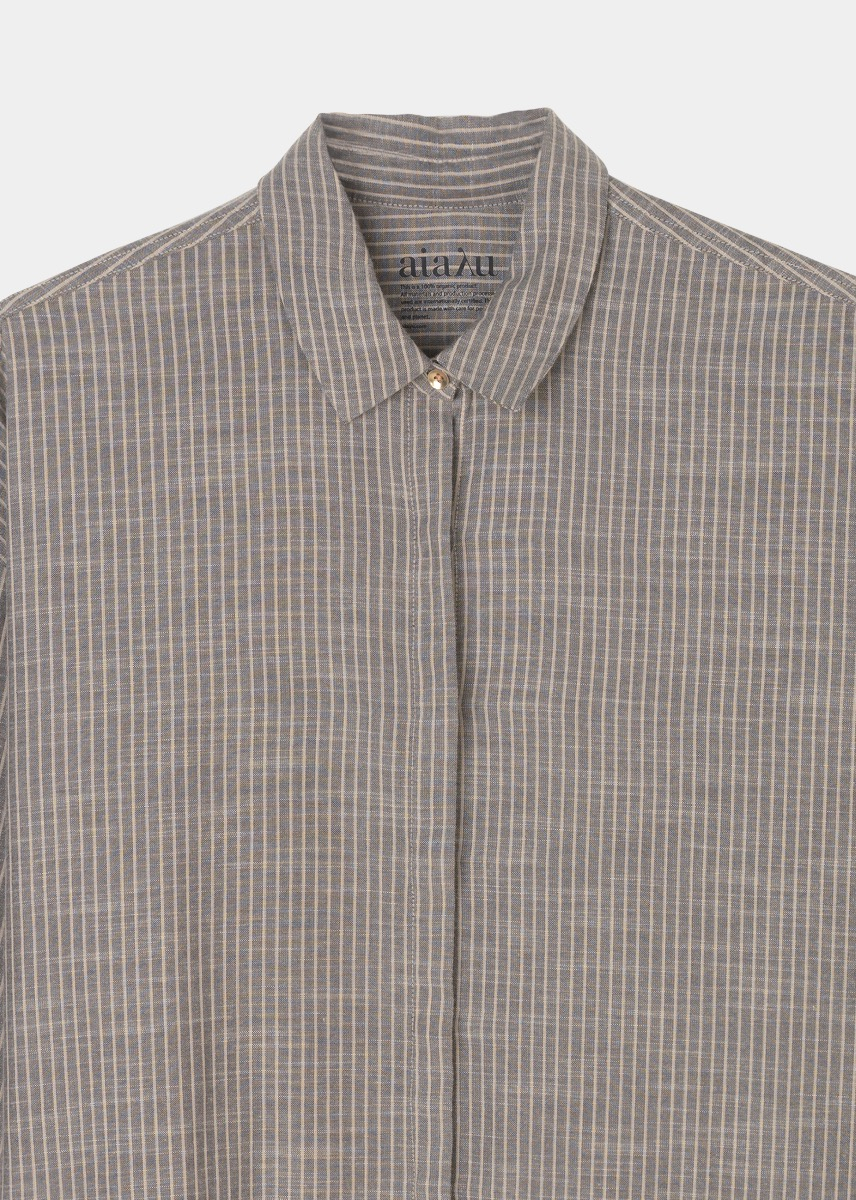 Shirts - Shirt Slim Striped Thumbnail