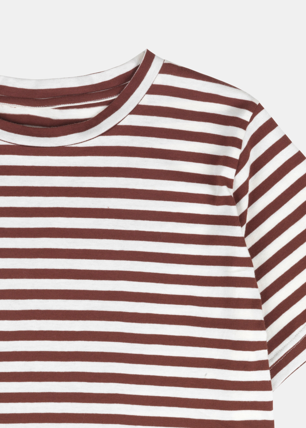 Blouses & Tees - Short Sleeve Tee Striped Thumbnail