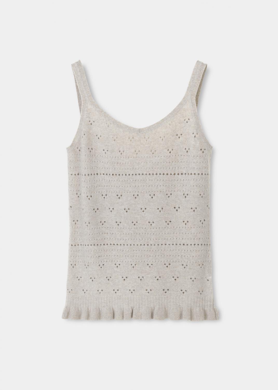 Knitwear - Silvia cashmere top Thumbnail