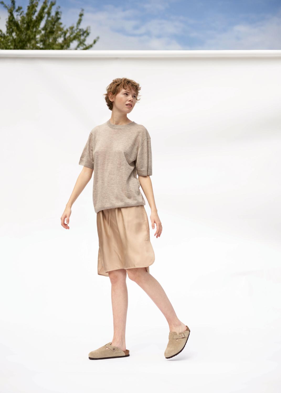 Kleider & Röcke - Skirt Silk Thumbnail