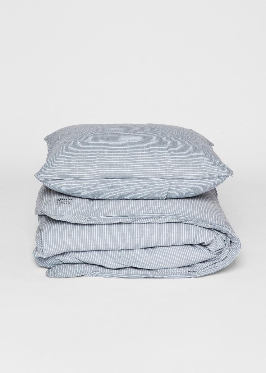 Bedlinen - Striped Duvet Set - Single XL (140x220) Thumbnail