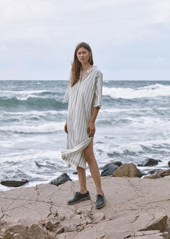 Dresses & Skirts - Sunita Tiny Stripe Thumbnail