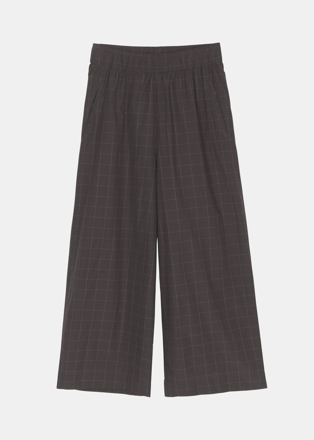 Pants & Shorts - Wide Pant Y/D Checked