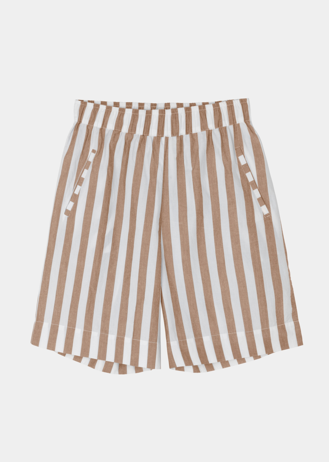 The Circle Collection - Circle Wide Shorts - Striped Thumbnail